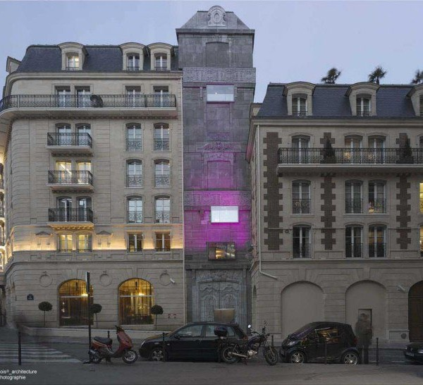 Fran ois edouard 2006 h tel fouquet s barri re paris for Architecte batiment de france